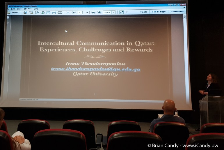 Lecture on Intercultural Communications in Qatar