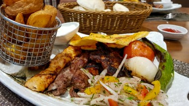 Lebanese mixed grill. If you like your meat, this is my recommendation