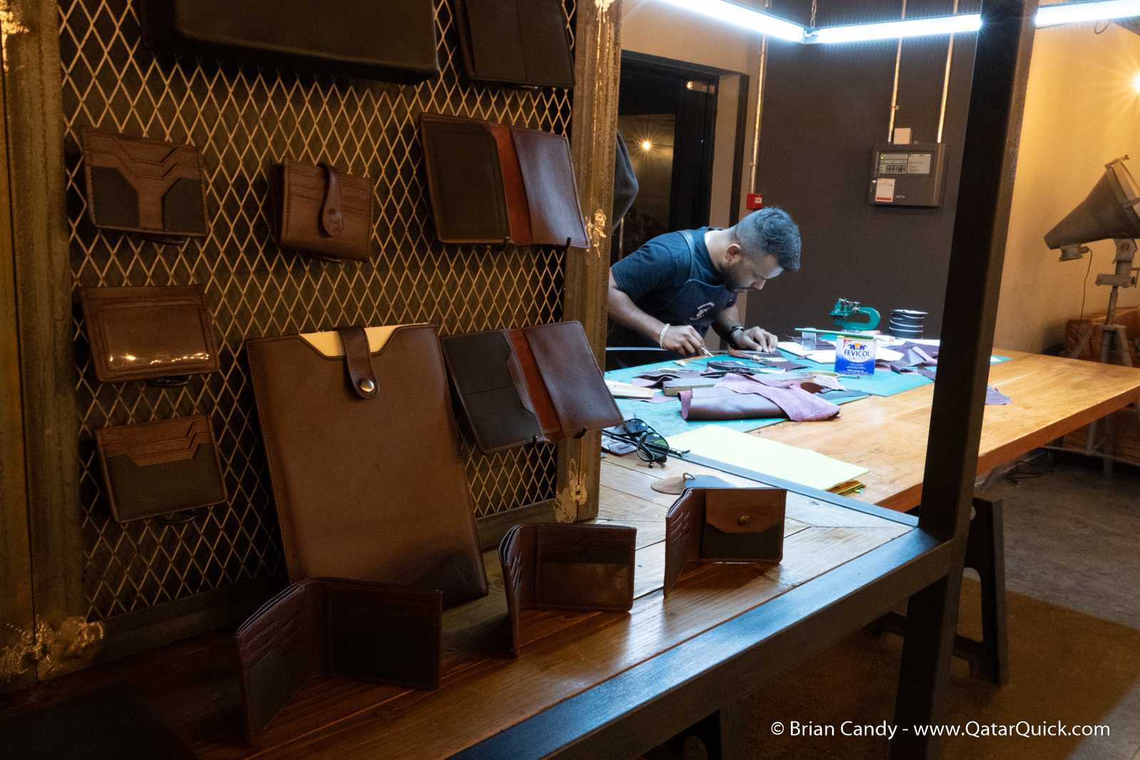 Dromedary Leather