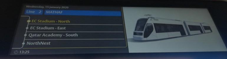 EC Tram stops
