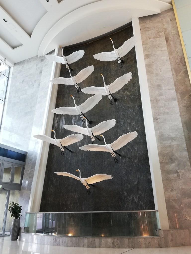 Egret Wall