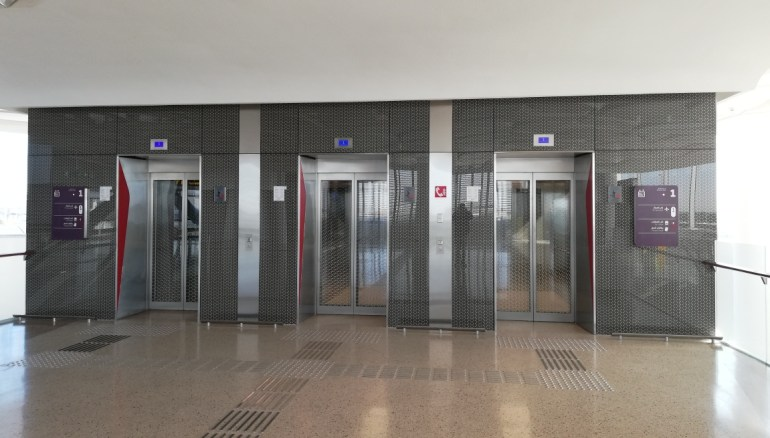Doha Metro lifts