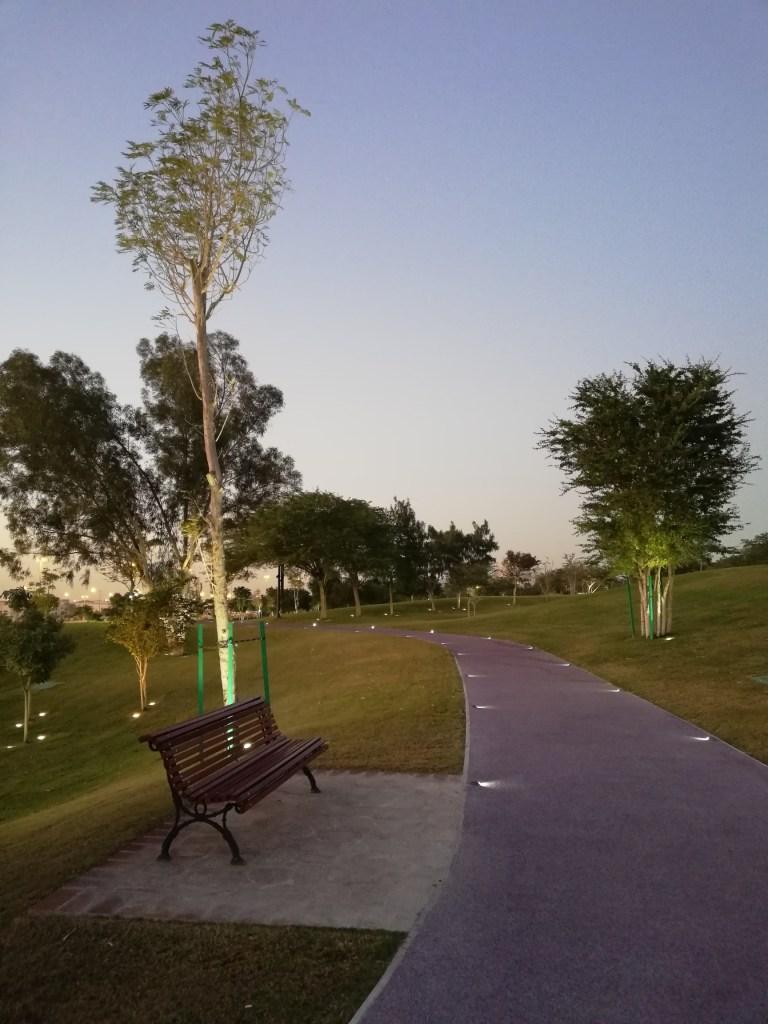 Atmospheric view of Katara walking trail