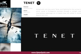 TENET Qatar Quick Film Review