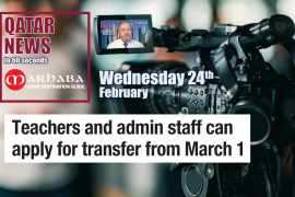 Teachers and admin staff can apply for transfer from March 1st