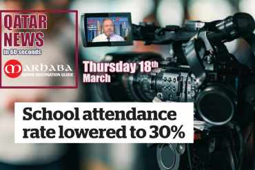 School attendance rate lowered to 30%