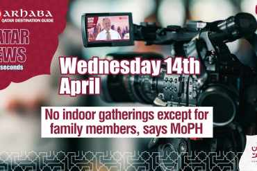 No indoor gatherings except for family members