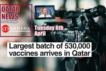 Largest batch of 530,000 vaccines arrived in Qatar