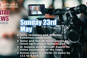 Qatar News in 60 Seconds 23/05/21