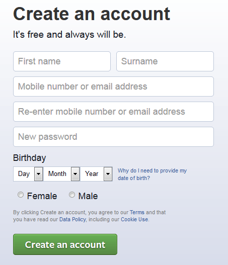 facebooksignup