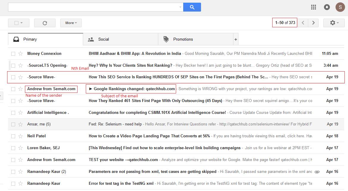 gmailAssignment