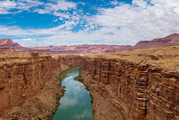 colorado river panoramic view