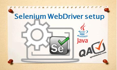 selenium-webdriver-setup-or-installation