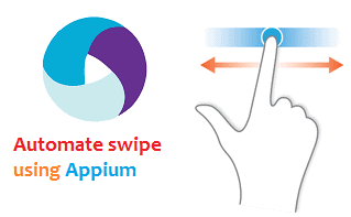 Automate swipe using appium - use of TouchAction - qavalidation