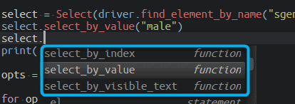 How To Get Selected Value From Dropdown List In Python