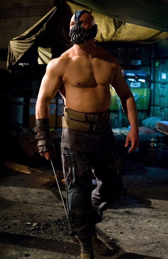 Tom Hardy als Bane in DC's The Dark Knight Rises