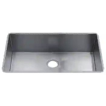 j7 34 1 2 single bowl undermount kitchen sink