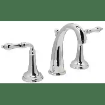 jewel 8 inch wide spread faucet high escutcheon
