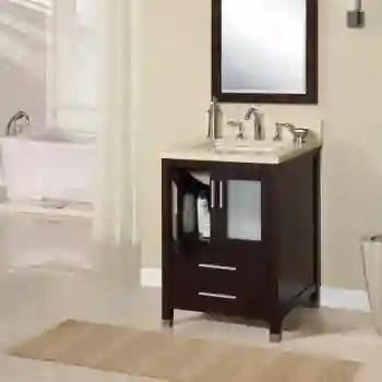 two door two drawer extra deep vanity