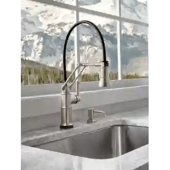 artesso kitchen faucet with smart touch technology