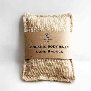 Organic Cotton Body Buff - Gentle Exfoliator