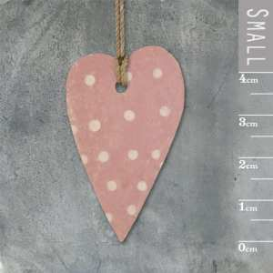 Little long heart-Pink