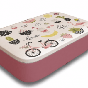 Pretty Little Things Classic Bamboo Lunchbox