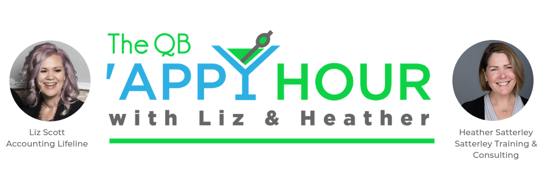 The QB 'Appy Hour with Liz & Heather