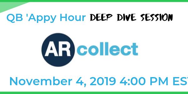 QB 'Appy Deep Dive Session: AR Collect