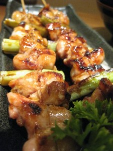 chicken yakitori -small