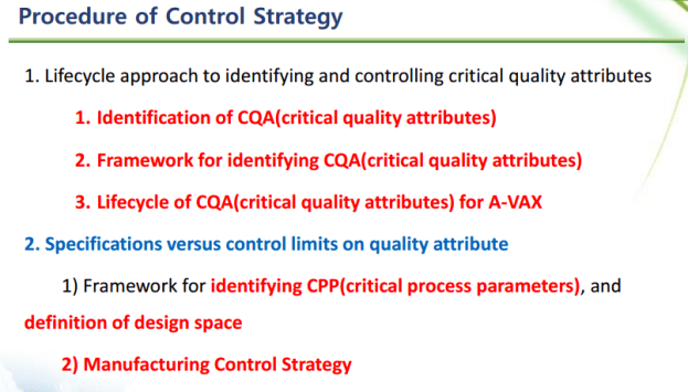 Control Strategy for A-VAX