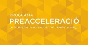 Barcelona Activa Preacceleració program