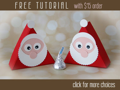 Hershey's Santa Tutorial Free with Purchase