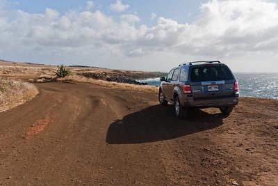 Cool road to Mo'okini Luakini Heiau