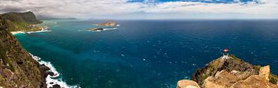 Waimanalo Bay from Makapu'u Point