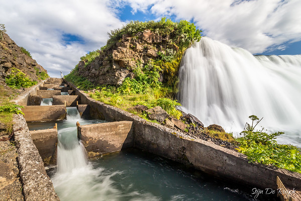 Faxi waterfall, Southwest Iceland