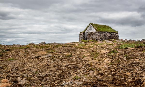 Shelter on the Steingrimsfjardarheidi, Westfjords
