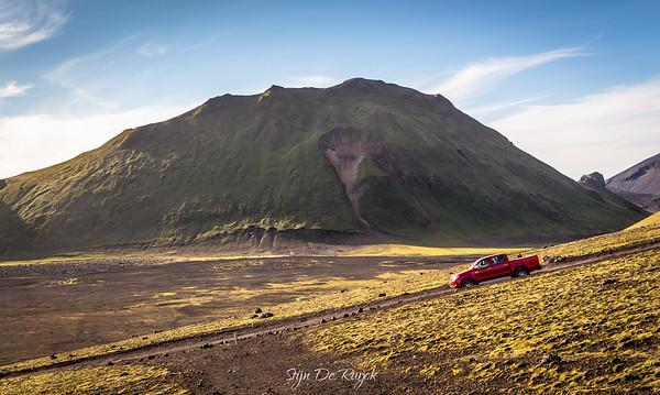 Tjörvafell, F208, Icelandic Highlands
