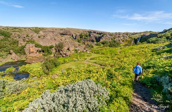 Gjáin Valley, Icelandic Highlands