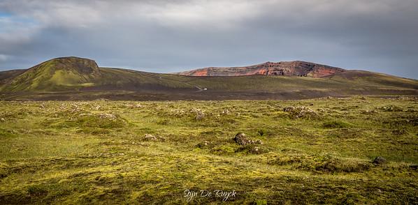 Ljótipollur explosion crater, F208, Icelandic Highlands
