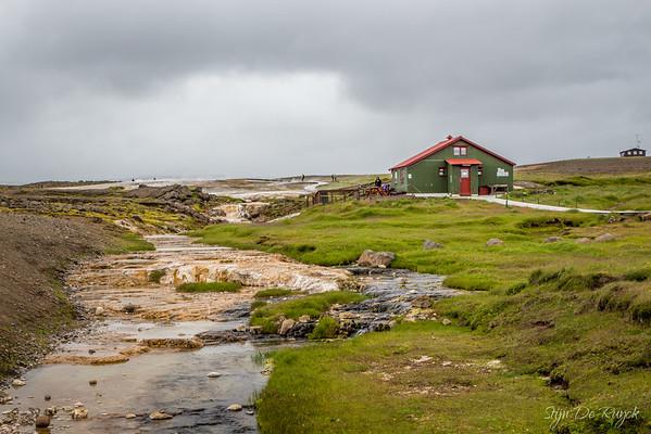 Hveravellir geothermal area along the F35, Iceland