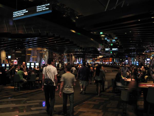 Aria Casino Floor, Las Vegas