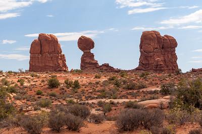 Balanced Rock, Arches National Park, Utah