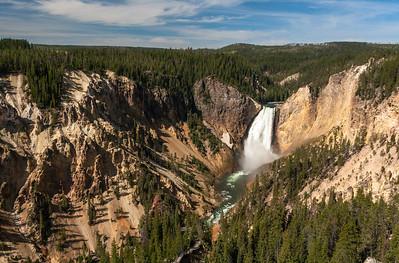Lower Yellowstone Falls, Grand Canyon of Yellowstone, Yellowstone National Park