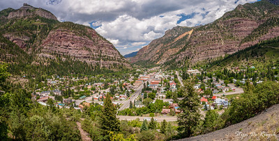 Ouray along the Million Dollary Highway, Colorado