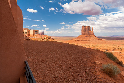 West Mitten Butte from The View Hotel, Monument Valley, Arizona