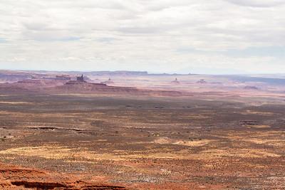 Valley of the Gods from Moki Dugway, Utah