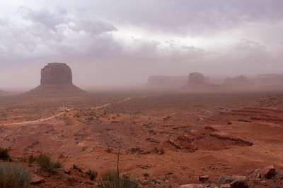 Monument Valley, 15 minutes later ...
