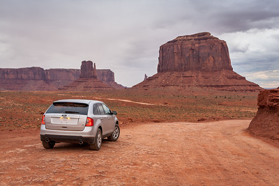 West Mitten & Merrick Butte, Monument Valley, Arizona