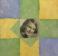 cropped scrapbook portrait